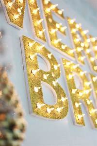 christmas light up marquee diy a beautiful mess With noel lighted letters