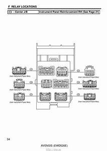 Toyota Avensis Sat Nav Wiring Diagram