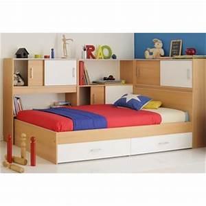 Lit 1 Place Avec Rangement : lit tiroir 2 places dans lit adulte achetez au meilleur prix avec publicit ~ Teatrodelosmanantiales.com Idées de Décoration