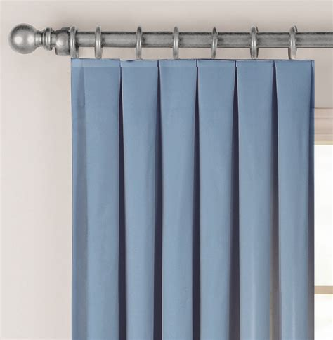 fabricville box pleat curtain plis plats  drapery