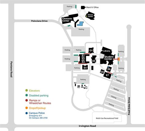 Pcc Downtown Campus Map