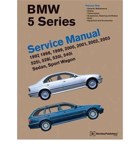 online auto repair manual 2005 bmw 5 series user handbook bmw 5 series service manual 1997 2003 e39 sagin workshop car manuals repair books