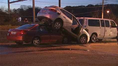 Several injured in multi-vehicle accident on Interstate ...