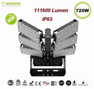 600w Led High Mast Light 160lm  W 96000 Lumen Sports Light Floodlight