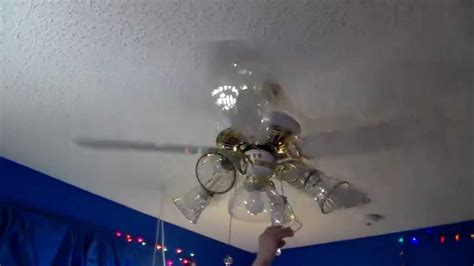 5 blade hton bay ceiling fan 1989 casablanca delta ii ceiling fan with 5 blades youtube