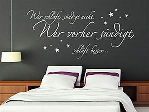 Schlafzimmergestaltung Wand