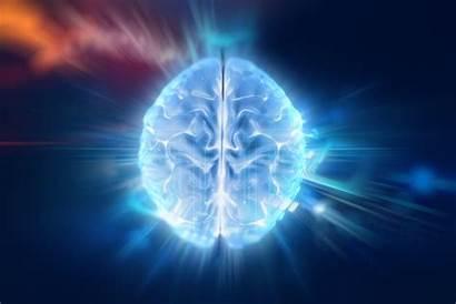 Brain Human Technology Consciousness Depression Background 3d