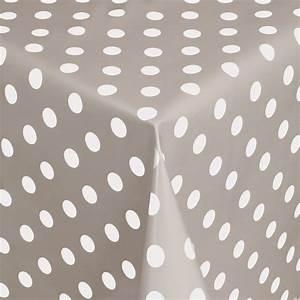 Schiebegardinen Grau Weiß : tischdecke abwaschbar wachstuch punkte grau weiss im wunschma ~ Frokenaadalensverden.com Haus und Dekorationen