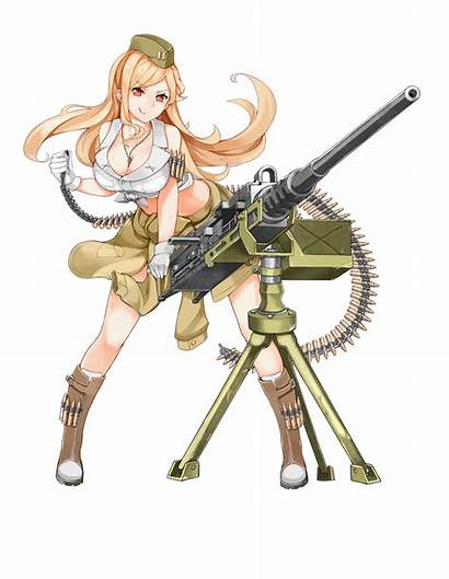 M2hb Frontline Gun Machine Browning Cal Girlsfrontline
