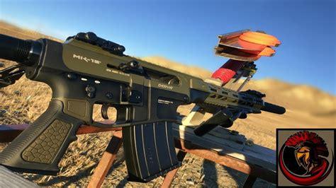 derya mk 12 automatic shotgun range day shooting