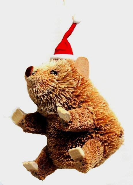 wombat christmas tree decoration  land