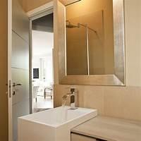 bathroom mirrors contemporary Custom golden silver framed bathroom mirror - Contemporary - Bathroom Mirrors - Austin - by ...