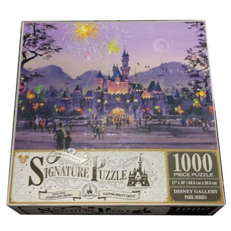 disney parks signature puzzle sleeping beauty castle
