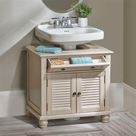 utilize  space   pedestal sink