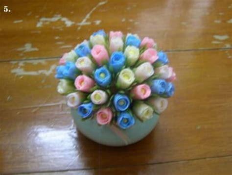 membuat bunga plastik kresek sedotan