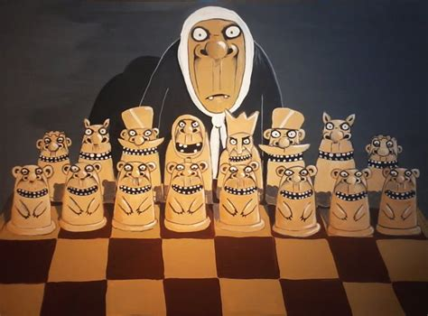 dog  chess funny picture