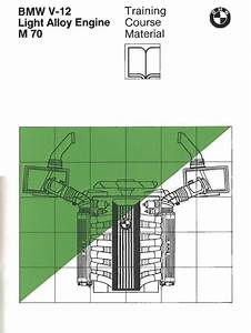 Bmw M-70 V12 Engine Training Manual