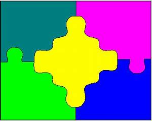 jigsaw puzzle clip art free clipart best