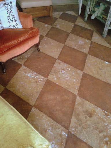 DIY:Staining Concrete Floors   danitalyn