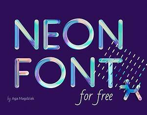 Neon Font — search on Behance
