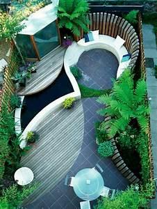 patio et petit jardin moderne des idees de design d With idee deco pour petit jardin