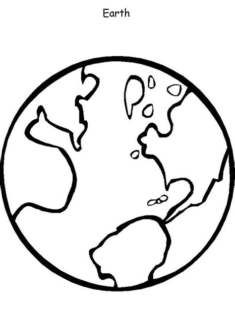 element earth coloring page coloring pages