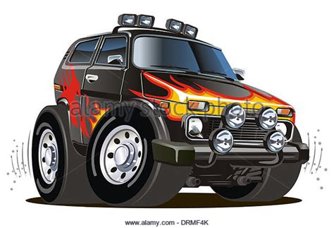 safari jeep cartoon jeep safari cut out stock images pictures alamy