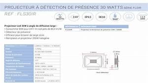 Projecteur à Détection : projecteur led esplana d tection de pr sence ~ Edinachiropracticcenter.com Idées de Décoration