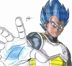 Vegeta Super Saiyan God Super Saiyan by drawick on DeviantArt