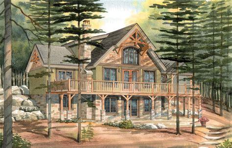 cottage designs floor carleton a timber frame cabin