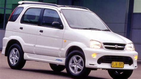 Daihatsu Terios Review used daihatsu terios review 1997 2005 carsguide