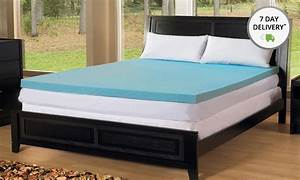 Simmons Curv 25quot Gel Memory Foam Toppers Groupon