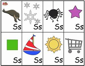 flash cards letter s classroom ideas pinterest With letter a flashcards with pictures