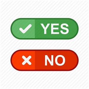 Ballot, checklist, fill, no, option, paper, yes icon ...