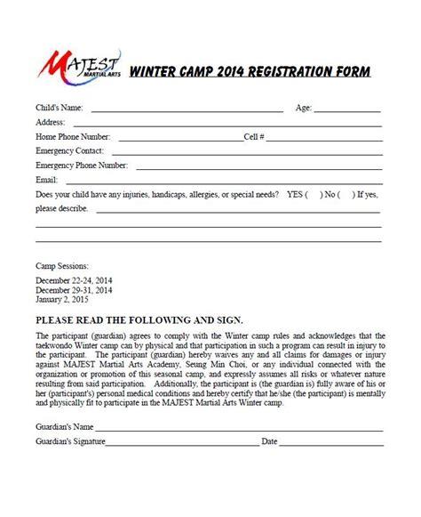 sle after school program registration form taekwondo self defense and after school program