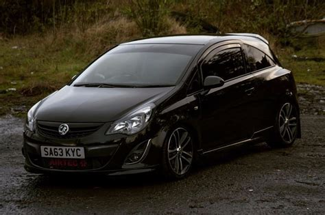 vauxhall corsa 2004 corsa 1 4t black edition in bangor county down gumtree