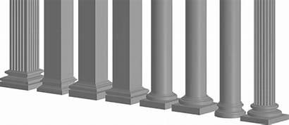 Columns Base Decorative Mouldings Exterior Bases Capitals