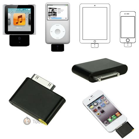 Ipod Adapter by New Bluetooth Adapter For Ipod Classic Touch Nano