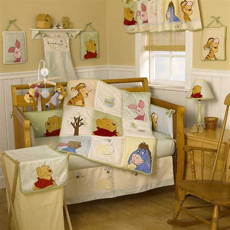 baby girl winnie  pooh nursery thenurseries