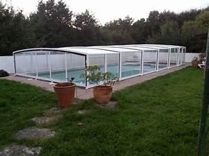 Piscine Sans Permis : poolabri abri piscine mi haut telescopique mixte ~ Melissatoandfro.com Idées de Décoration
