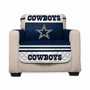 nfl dallas cowboys chair cover wwwbedbathandbeyondcom With nfl furniture covers