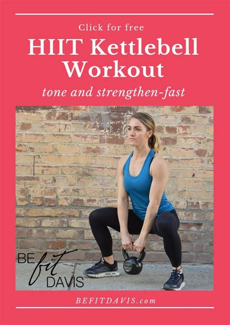 workout kettlebell hiit exercises overall fitness