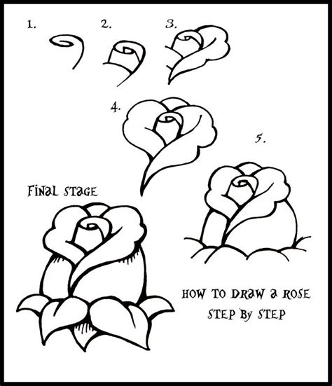 how to draw a flower step by step how to draw flowers daryl hobson artwork how to draw a rose step by step guide how to draw