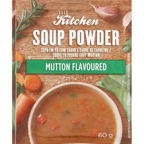 kitchen soup powder mushroom flavoured  soups