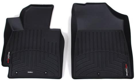 weathertech floor mats veloster 2014 hyundai veloster weathertech front auto floor mats black