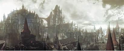 Lothric Souls Dark Darksouls Castle Fantasy Midhras