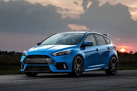 Ford Performance Focus Rs by Hennessey Performance Gives The Ford Focus Rs A Boost