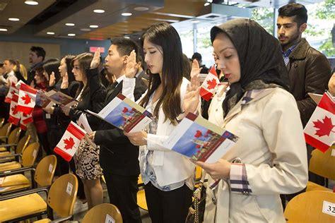 Oct 6 2015--vancouver Bc--citizenship Ceremony