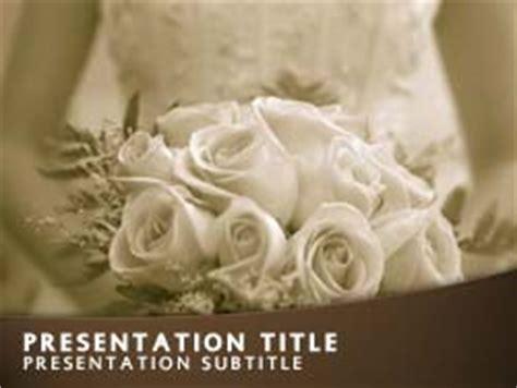 royalty  wedding bride powerpoint template  orange