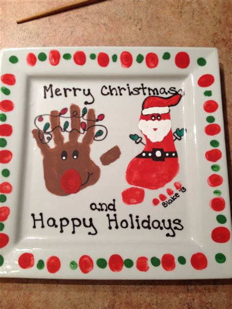christmas crafts for grandparents 1018 best images about handprint footprint crafts on